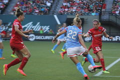 Portland Thorns vs Huston Rush Stock Photography