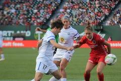Portland Thorns vs Kansas City FC Royalty Free Stock Photography