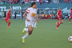 Portland Thorns vs NY Rush Royalty Free Stock Photo
