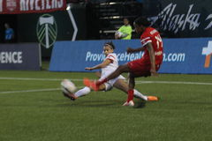 Portland Thorns vs Rush Stock Image