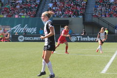 Portland Thorns vs Seattle Stock Image