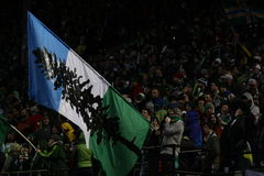 Portland Timbers Army Jeld-Wen Field Stock Photos