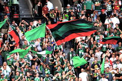 Portland Timbers fans Royalty Free Stock Images