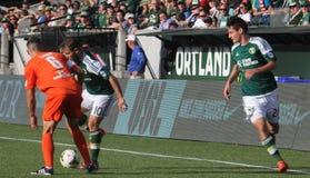Portland Timbers T2 vs Orenge County Blues Stock Images