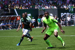 Portland Timbers v.s. Seattle Sounders Royalty Free Stock Photo