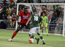 Portland Timbers vs Arizona United Stock Photography
