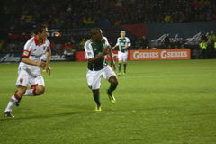 The Portland Timbers vs DC Stock Images