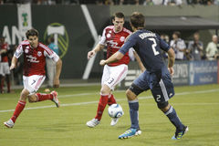 Portland Timbers vs LA Galaxy Stock Photography