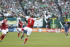 Portland Timbers vs LA Galaxy Stock Photos