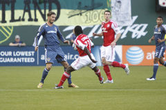 Portland Timbers vs LA Galaxy Stock Photo