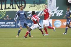 Portland Timbers vs LA Galaxy Stock Photo