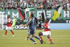 Portland Timbers vs LA Galaxy Stock Images