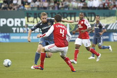 Portland Timbers vs LA Galaxy Royalty Free Stock Photo