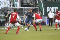 Portland Timbers vs LA Galaxy Royalty Free Stock Photo