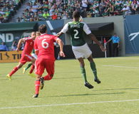 Portland Timbers vs Quakes Royalty Free Stock Image