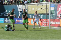 Portland Timbers vs Seattle Royalty Free Stock Photos