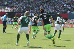Portland Timbers vs Seattle Royalty Free Stock Images