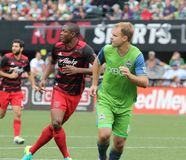 Portland Timbers vs Seattle Sounders Stock Images
