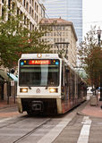 Portland Tri-Met Light Rail Royalty Free Stock Photography