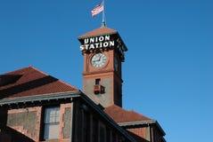Portland Union Train Station Stock Image