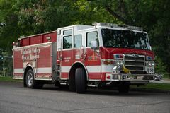 Tualatin Valley Fire and Rescue paramedic truck stock image