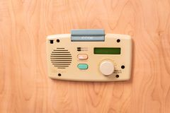 Patient-doctor communication system in emergency room royalty free stock images