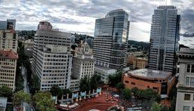 Portland van de binnenstad Stock Afbeeldingen