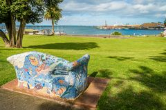 Portland in Victoria, Australia, in the summer Royalty Free Stock Photography