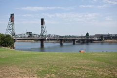Portland Waterfront Royalty Free Stock Photography