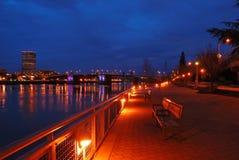 Portland Waterfront Royalty Free Stock Photo