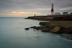 Portlandzka Bill latarnia morska, Dorset. Zdjęcia Royalty Free