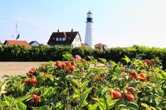 Portlandzka Heahlight latarnia morska, Maine, usa Obrazy Royalty Free