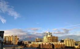 Portlandzka linia horyzontu Zdjęcie Royalty Free