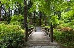 Portlandzki japończyka ogród w wiośnie obrazy stock