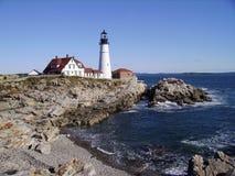 Portlandzki Maine głowy światło Zdjęcie Stock