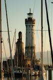 PortLindau Leuchtturm lizenzfreies stockfoto