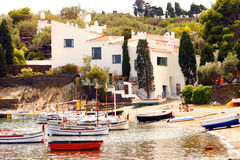 Portlligat - Cadaques - House of Dali Royalty Free Stock Photography