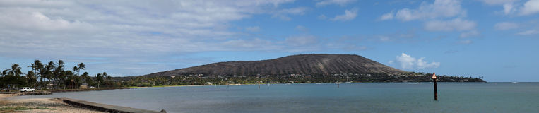 Portlock, Hawaii Kai Panoramic Royalty Free Stock Photo