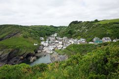 Portloe, Cornwall Royalty Free Stock Images