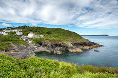 Portloe em Cornualha Fotos de Stock Royalty Free
