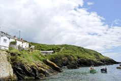 Portloe Harbour Royalty Free Stock Photography