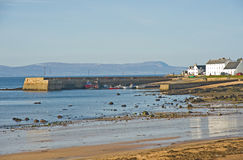 Portmahomack and harbor. Stock Photo