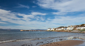 Portmahomack Harbour. Beautiful little village on the Dornaoh Firth Royalty Free Stock Photography