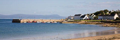 Portmahomack, Highlands, Scotland Royalty Free Stock Photography