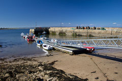 Portmahomack, Scotland Stock Photography