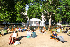Portman Square, London Stock Photography