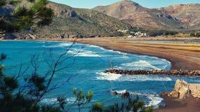 Portman village. Located between La Manga Club and Cartagena city. Spain Royalty Free Stock Photos