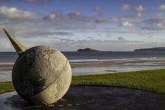 Portmarnock widok Irelands oko zdjęcie royalty free
