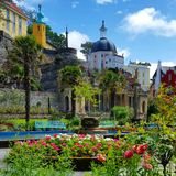 Portmeirion Photo libre de droits