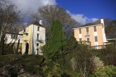 Portmeirion immagine stock